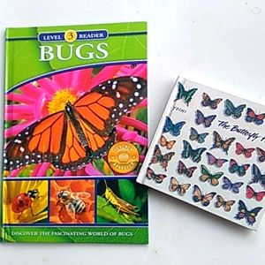Butterfly and bug books